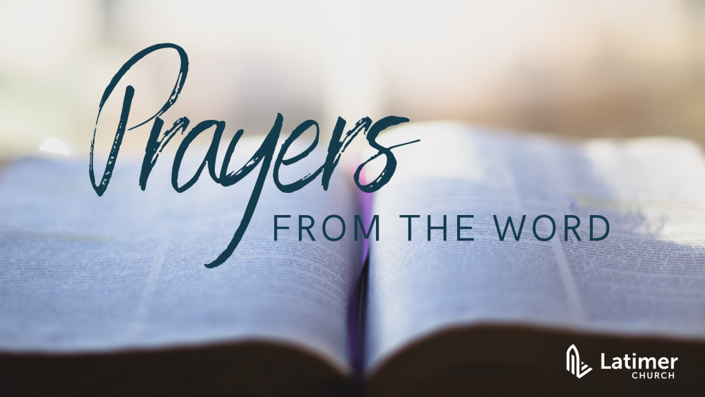 Prayers From The Word